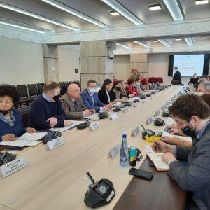 Заседание Совета представителей НКО при Законодательном собрании Ленинградской области